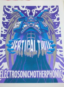 Vertical Twin Poster