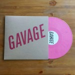 Gavage Self Titled LP on Magenta Vinyl